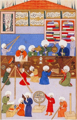 Ala ad-Din Mansur-Shirazi - Istanbul University Library, F 1404, fol. 57a (Ṣehinṣename, Book of the King of Kings)